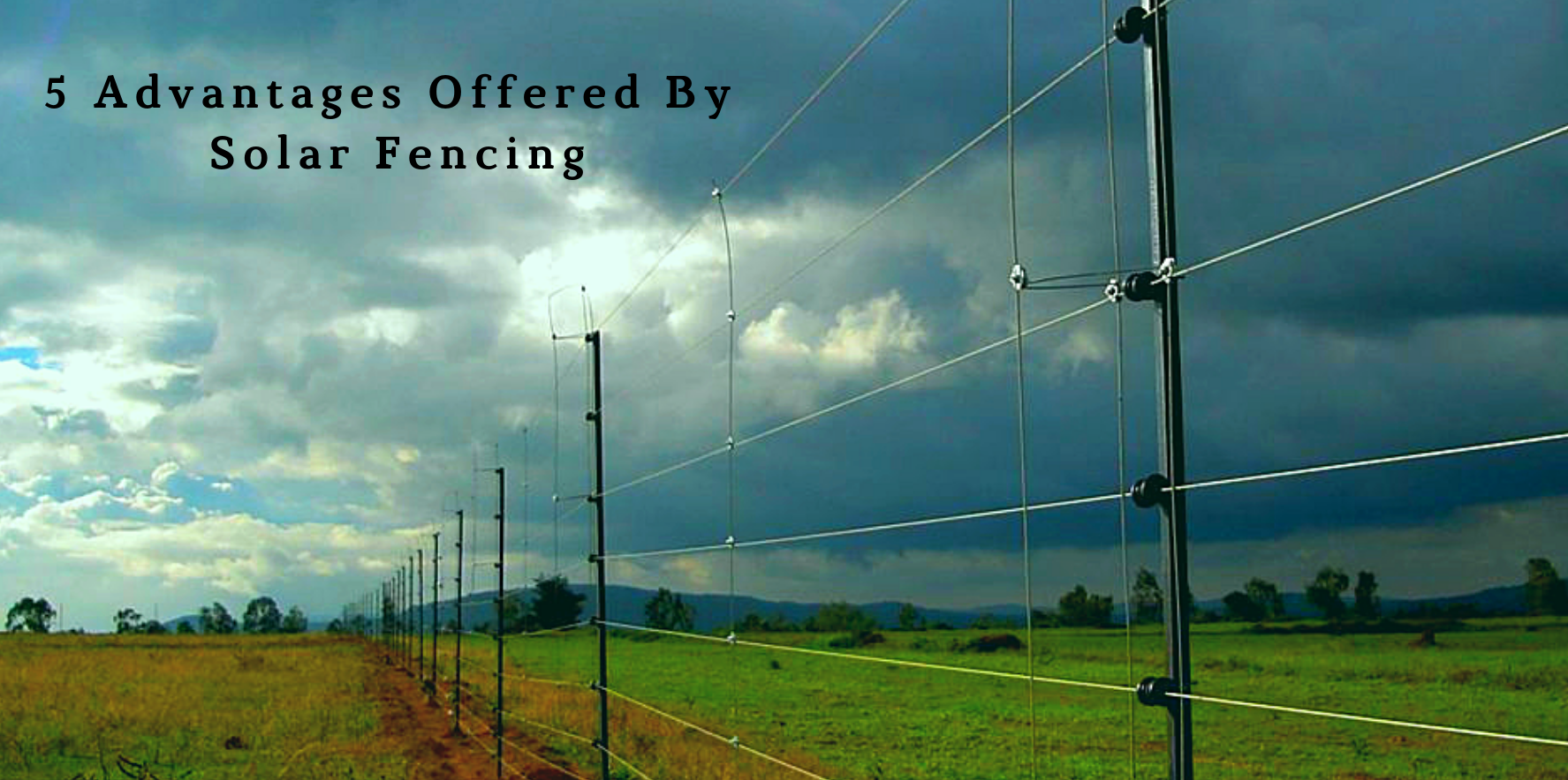 Top 5 Advantages You Need to Know About Solar Fencing